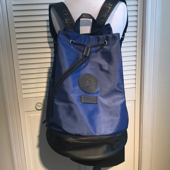 689307c12381 Versace campus backpack